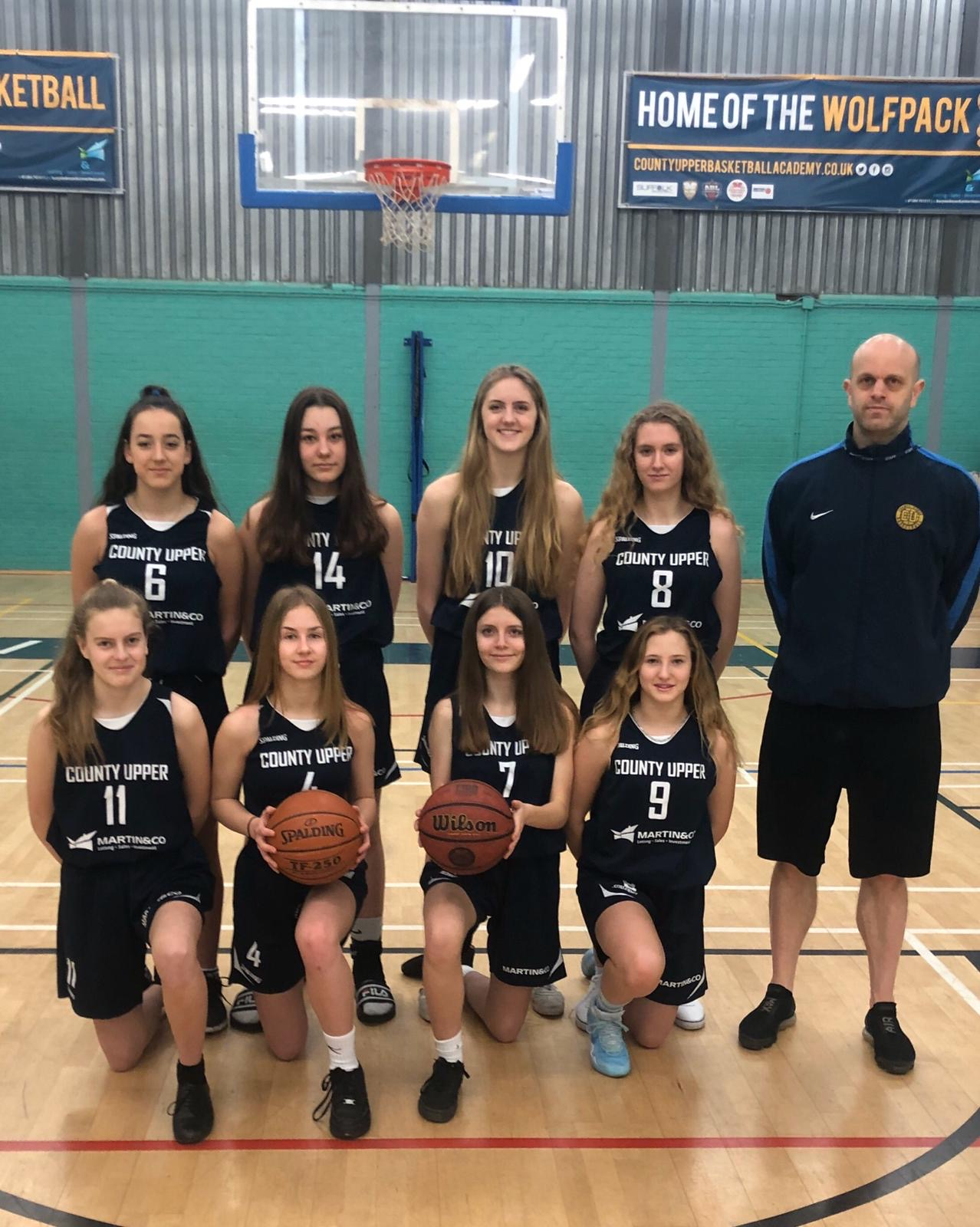 County Upper U19 Academy Girls Become Co-National Champions