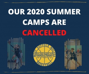 West Suffolk Wolves Summer Camp 2020 Cancelled