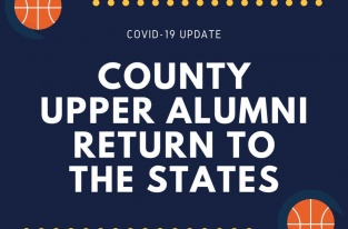 COUNTY UPPER ALUMNI RETURN TO THE STATES