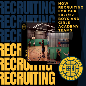 2020/21 Boys and Girls Academy Team Recruitment